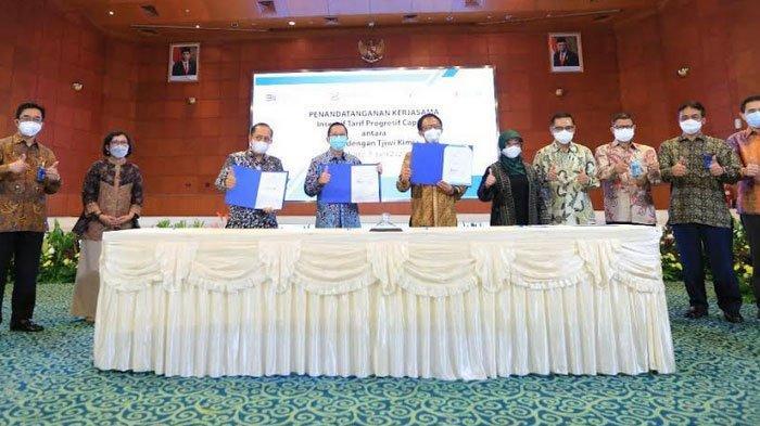 PLN – Tjiwi Kimia Teken Perjanjian Jual Beli Tenaga Listrik
