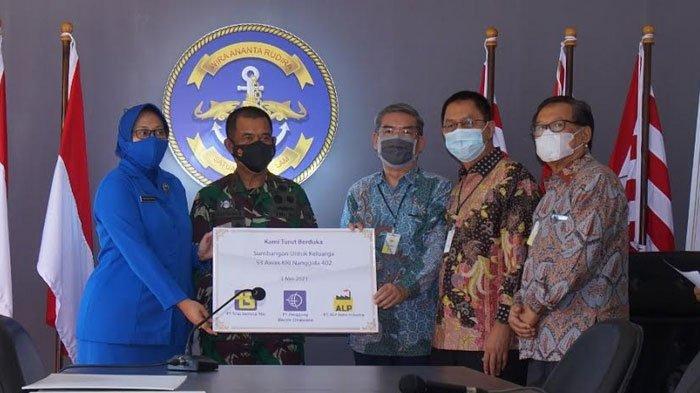 Tiga Perusahaan di Surabaya dan Sidoarjo Peduli Keluarga KRI Nanggala 402