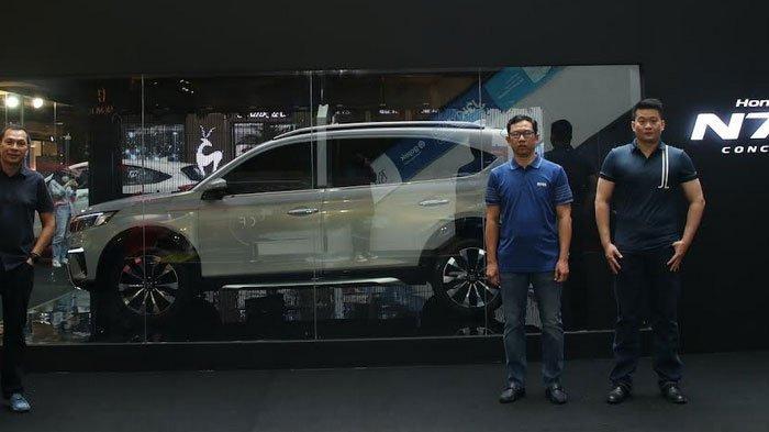 Mobil Konsep Honda N7X Roadshow ke 4 Kota, di Kotak Kaca Ada Teknologi LED transparan