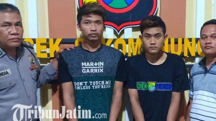 Gagal Pesta Sabu, Dua Pemuda Sidoarjo ini Malah Dibui di Polsek Sukomanungal Surabaya