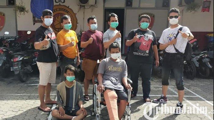 Dua Residivis Kambuhan di Surabaya ini Diringkus Seusai Curi Motor, Kakinya Ditembak