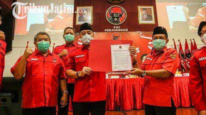 Eri Cahyadi Teken Komitmen Politik Lanjutkan Program Pro-Wong Cilik Risma di Surabaya
