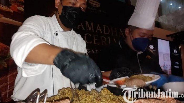 Menu Buka Puasa di Suites Hotel Surabaya Andalkan Nasi Kabsah, Si Hijau Penuh Rempah