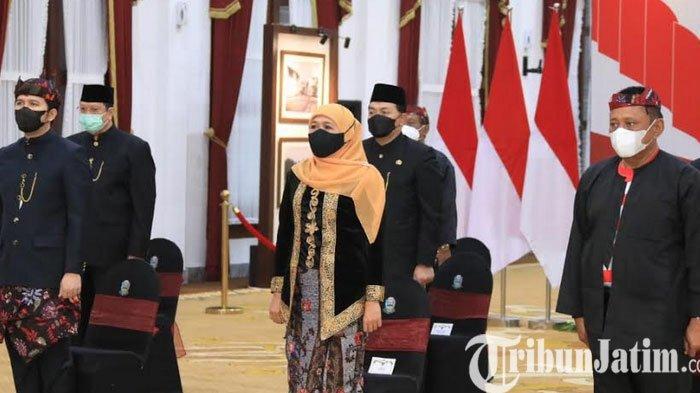 Gubernur Jatim Khofifah Ajak Milenial Dalami Makna Pancasila sebagai Perekat Persatuan Bangsa