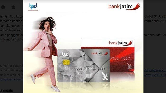 Tingkatkan keamanan, Bank Jatim Imbau Nasabah Ganti Kartu ATM Lama dengan Kartu ATM Chip