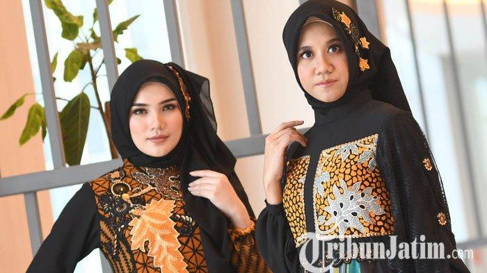 Angkat Wastra Nusantara, Lia Afif Padukan Kain Tenun dan Batik Lamongan Untuk IFW 2020
