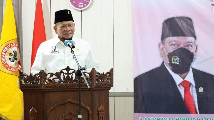 Ucapkan Selamat Ultah Buat Presiden Jokowi, LaNyalla Optimis RI Keluar dari Pandemi Covid