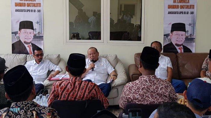 Kunjungi Madura, Ketua DPD RI LaNyalla Disambati Petani Tambak Garam