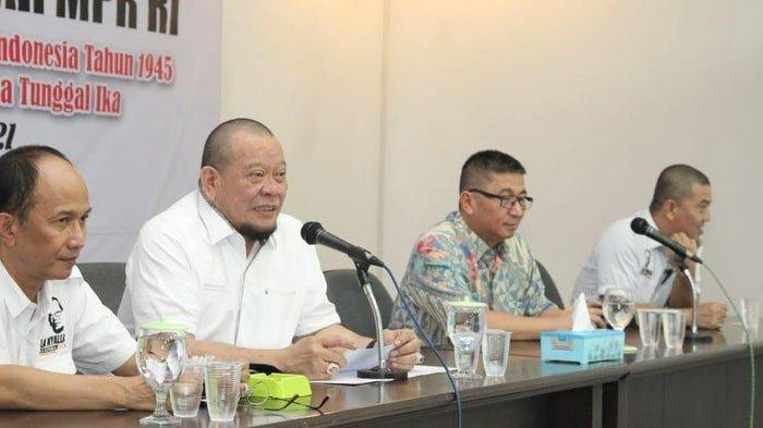 Dukung Kebijakan Larang Mudik, Ketua DPD RI  LaNyalla Ingatkan Bansos Agar Terus Turun
