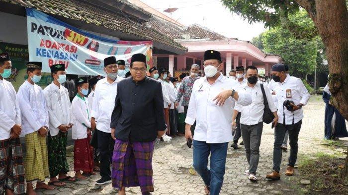 LaNyalla, Ketua DPD RI Apresiasi PUPR Bangun MCK di Pondok Pesantren/LPK
