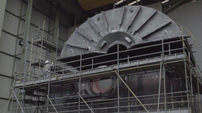 PT Barata Indonesia Pasok Komponen Turbin PLTU Jawa 9 dan 10