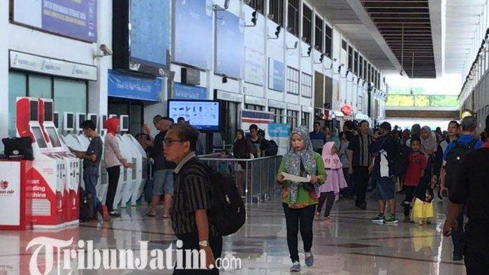 Hari Raya Natal, Jumlah Penumpang Bandara Juanda Alami Penurunan