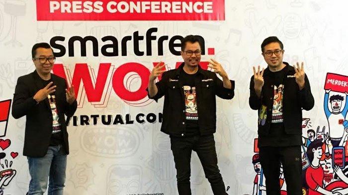 Smartfren Luncurkan WOWLabs, Membuka Peluang Kokreasi untuk Generasi Konten
