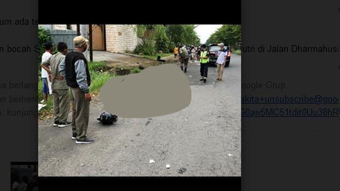 Polisi Periksa Bocah SMA Penabrak Pasutri di Jalan Dharmahusada Surabaya, Belum Ada Tersangka