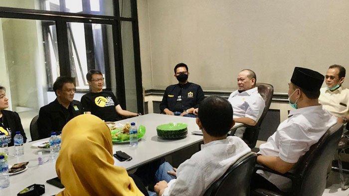 Ketua DPD RI, LaNyalla Tekankan Pentingnya Sertifikasi Profesi Saat Bertemu Broker Properti