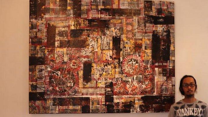 Konsistensi Seniman Muda Surabaya, Jadikan Karya Abstrak sebagai Karakteristiknya