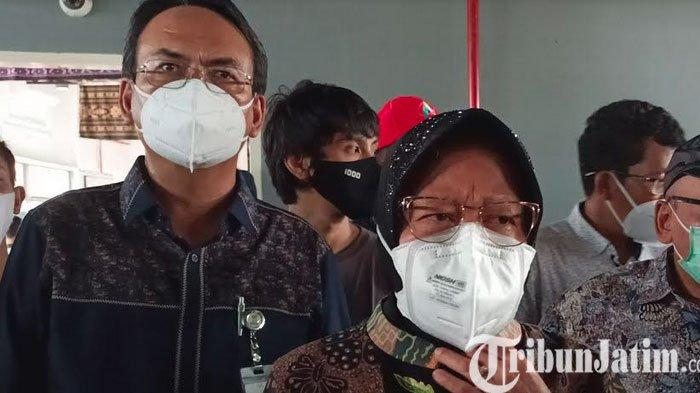 Mensos Risma Bawa Bantuan ke Jember Setelah Kebutuhan Penanganan Bencana Kabupaten Jember Habis
