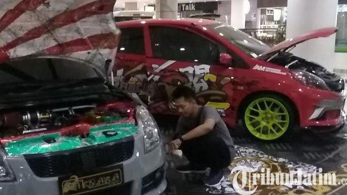 Ajang Modifikasi Mobil di Atrium Marvel City Mall Surabaya Dibanjiri Peserta