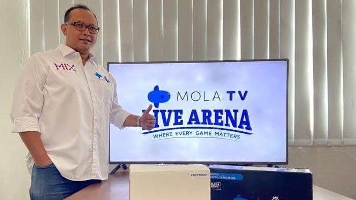Mola TV Manjakan Pecinta Bola, Tayangankan  Liga Inggris, Bundesliga dan Chinese SL
