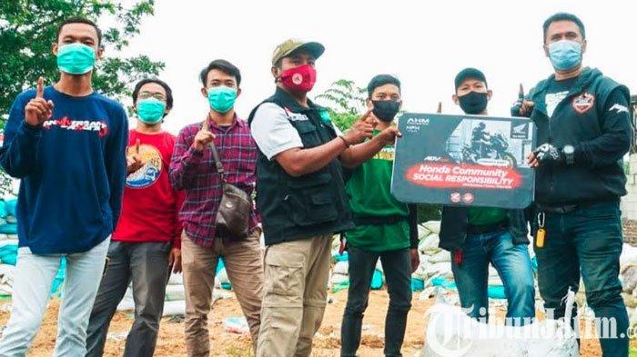 Sunmori Komunitas Honda ADV Kunjungi Trawas, Diajak Peduli Lingkungan