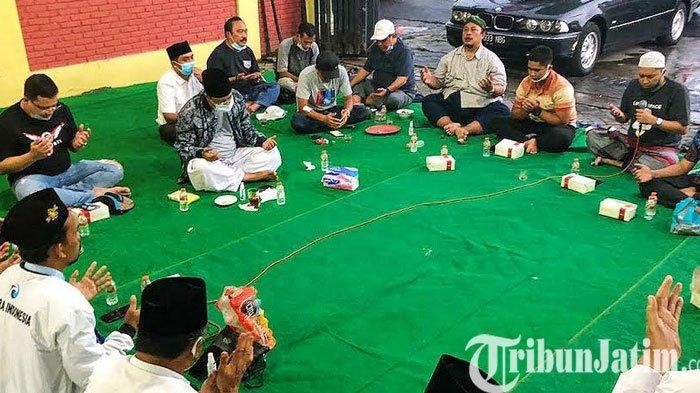 Calon Wali Kota Pasuruan, Gus Ipul-Mas Adi Gelar Doa Bersama Pimpinan Parpol dan Relawan