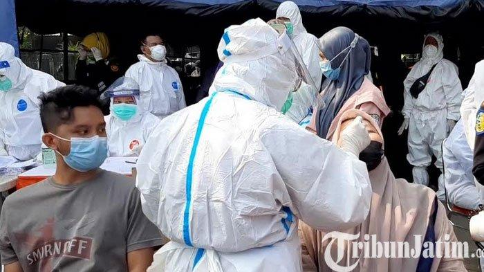 Polda Jatim Terapkan Mikro Lockdown dj Empat Kecamatan di Bangkalan dan Swab Antigen