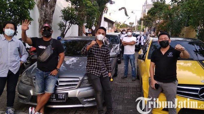 Bangkitkan Pariwisata Komunitas  Mercedes Benz W 204 Touring Keliling Jawa