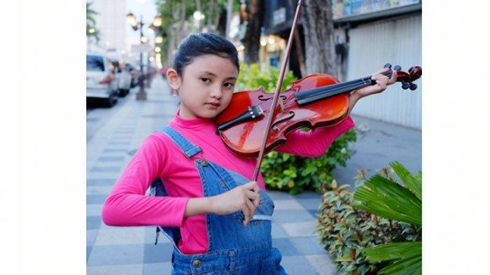 Prihatin Minim Lagu Anak, Penyanyi Cilik Shabiyya Luncurkan 'Masaku Bersamamu' Karya Tesa Idol