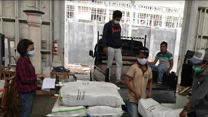 Bantu Korban Tanah Longsor Nganjuk, Forkas Jatim Kirimkan 350 Paket Sembako