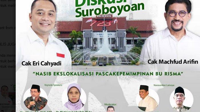 Pilwali Surabaya 2020  Elektoral Calon Wali Kota akan Terjawab Siang ini, Siapa Unggul?