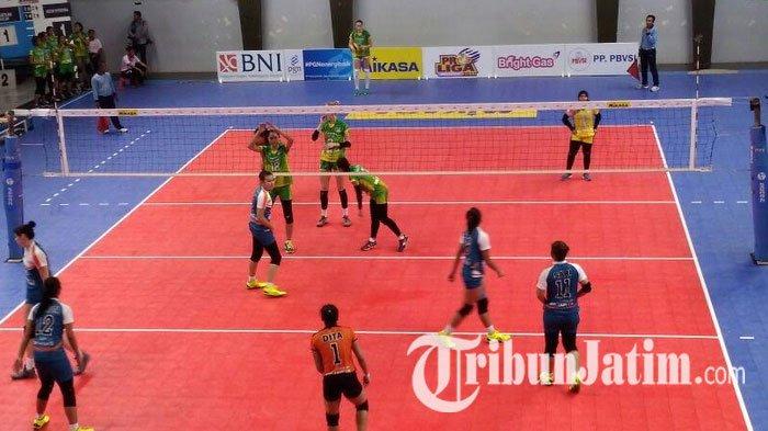 Menang Telak 3 - 0, Pelatih Tim Putri Jakarta BNI 46 Ungkapkan Hasil Evaluasi Positif Timnya