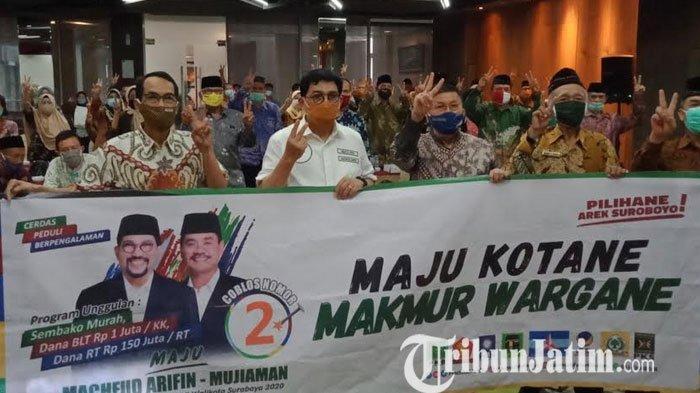 Purnawirawan Polisi Surabaya Dukung Paslon Machfud-Mujiaman
