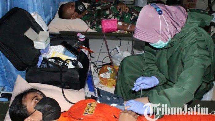 Sekolah Penerbangan TNI AL Gelar Donor Plasma Konvalesen
