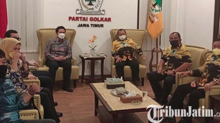 Petinggi Demokrat-Golkar Jawa Timur Gelar Pertemuan Secara Tertutup, Sejumlah Hal Jadi Kesepakatan