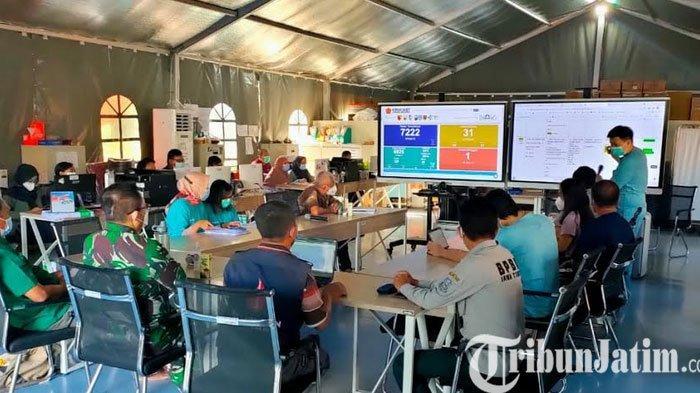 Pasien Covid Pekerja Migran Ditangani Khusus di RS Lapangan, Kapan Mereka Pulang?