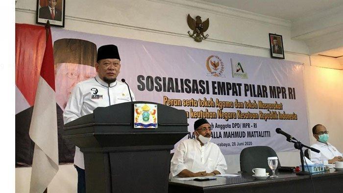 Ketua DPD RI, LaNyalla : Lima Sila Sudah Final, Agama Bukan Ancaman Pancasila