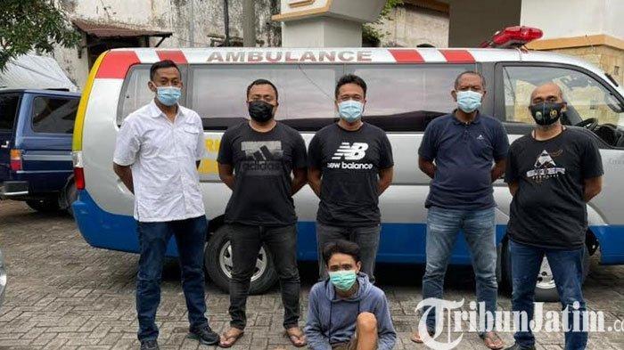 Satu Dari Dua Pelaku Curanmor Diringkus Saat Hendak Beraksi di Kenjeran Surabaya