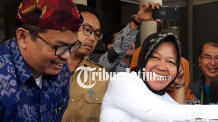 Inilah Kegiatan Wali Kota Surabaya di Hari Pertama Kerja