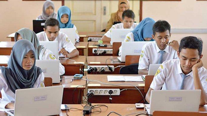 Ujian Akhir Pakai Komputer, Tak Barlaku di Daerah Kepulauan di Jatim