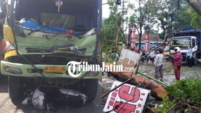 BERITA TERPOPULER JATIM: Kecelakaan Karambol di Lumajang - 2 Pohon Besar Tulungagung Tumbang