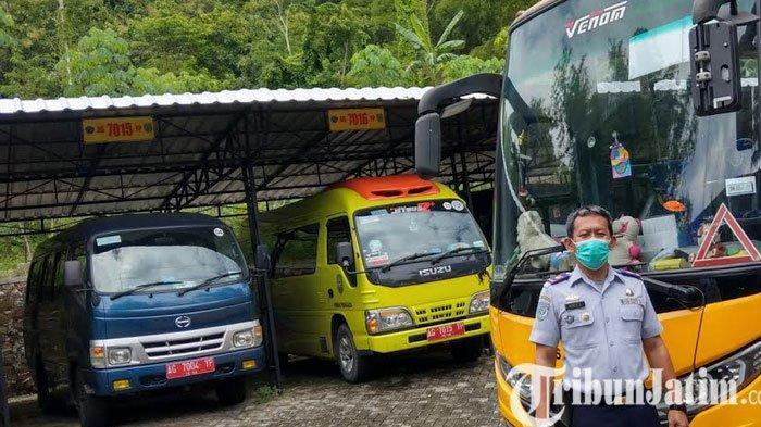Pandemi Covid-19, Angkutan Sekolah di Trenggalek Nganggur Hampir Setahun