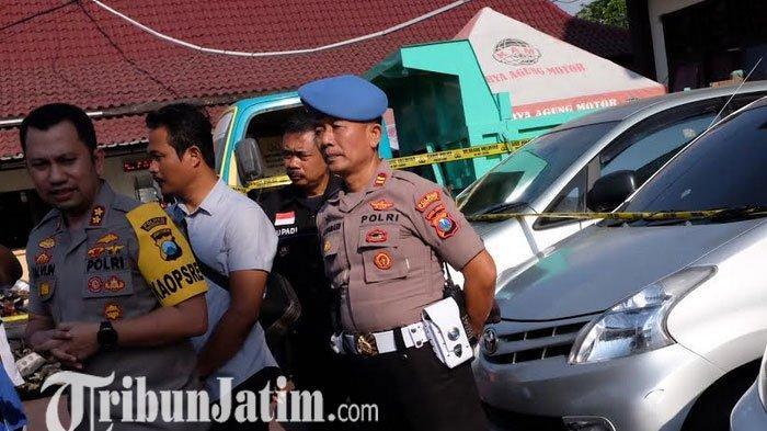 Polres Trenggalek Buka Gebyar Expo Barang Bukti Sampai Jumat Besok, Ada 24 Unit Kendaraan