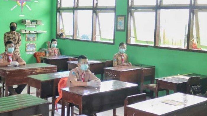Persiapan Prokes Sekolahan di Trenggalek, Pembelajaran Tatap Muka Tunggu Vaksinasi Guru Rampung