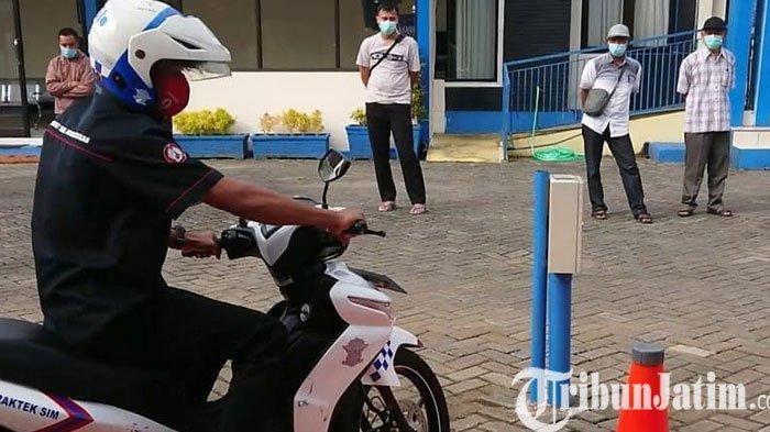 Pertama di Indonesia, Visualisasi Uji Praktik SIM di Polres Trenggalek