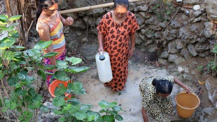 Dua Desa di Trenggalek Mulai Kekeringan