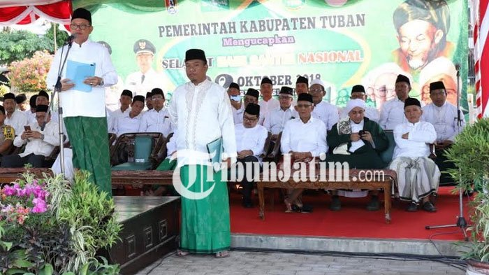 Hari Santri, Wabup Tuban :  Islam Harus Bersanding dengan Paham Kebangsaan