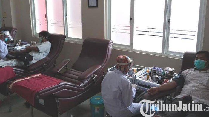 Ada 12 Penyintas Covid-19 Ikut Seleksi Donor Plasma di PMI Tulungagung