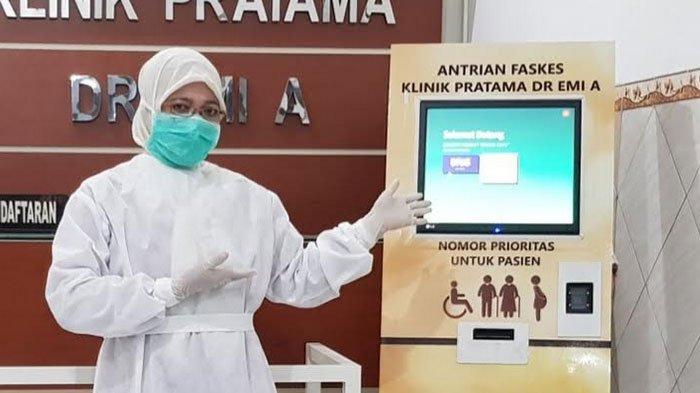 Terapkan Sistem Antrean Elektronik, Klinik Pratama DR EMI A: Social Distancing Bisa Maksimal