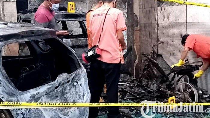 Rumahnya Diduga Dibakar Orang, Pejabat Dinkes Tulungagung Ini Mengaku Pernah Mendapat Ancaman