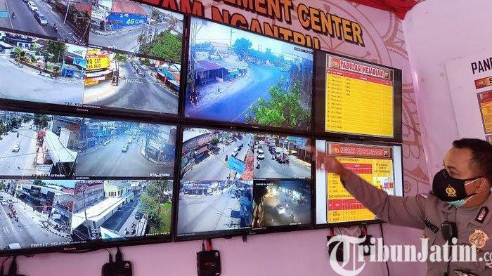 Titik Kemacetan Tahunan, Jalan Raya Ngantru Tulungagung Lancar Tanpa Penumpukan